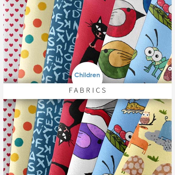children's printed fabrics