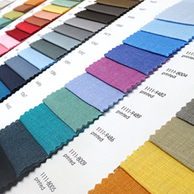 Wide selection of our solid colour fabrics