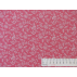 Flowers - Cotton plain - Pink, White - 100% cotton