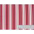 Stripes - Cotton plain - Red - 100% cotton