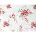 Flowers - Cotton plain - White - 100% cotton