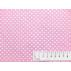 Srdíčka, Dětské - Bavlněné plátno - Růžová - 100% bavlna