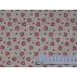 Srdíčka - Bavlněné plátno - Červená - 100% bavlna