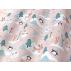 Vánoce, Dětské - Bavlněné plátno - Růžová - 100% bavlna