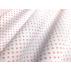 Puntíky - Bavlněný popelín - Červená - 100% bavlna