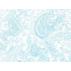 Ornamenty - Lněné plátno - Modrá - 100% len