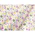Květiny, Dětské - Bavlněné plátno - Žlutá - 100% bavlna