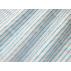 Pruhy - Lněné plátno - Modrá - 100% len