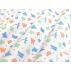 Dětské, Zvířata - Bavlněné plátno - Modrá, Zelená - 100% bavlna