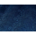 Kostky, Květiny - Bavlněný satén - Modrá - 100% bavlna