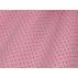 Puntíky - Bavlněný satén - Růžová - 100% bavlna