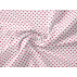 Srdíčka, Dětské - Bavlněné plátno - Vínová - 100% bavlna