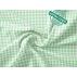 Kostky - Bavlněné plátno - Zelená - Antibakteriální