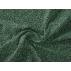 Květiny - Bavlněný satén - Zelená - 100% bavlna