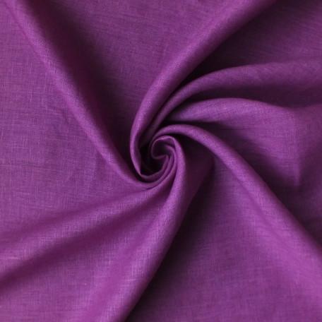 Solid colour - Linen plain - Pink - 100% linen