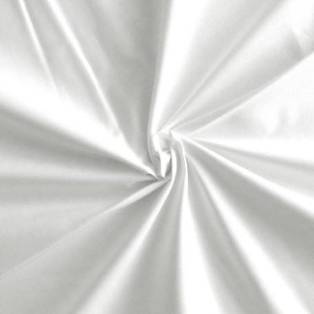 Naše UNI - Bavlněný kepr - Bílá - 100% bavlna