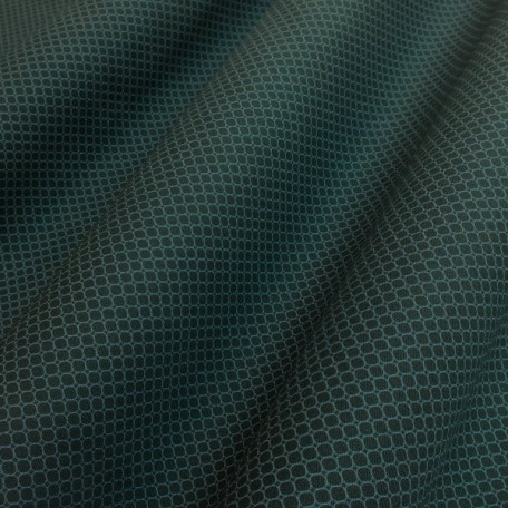 Ornaments - Cotton poplin - Green, Blue - 100% cotton