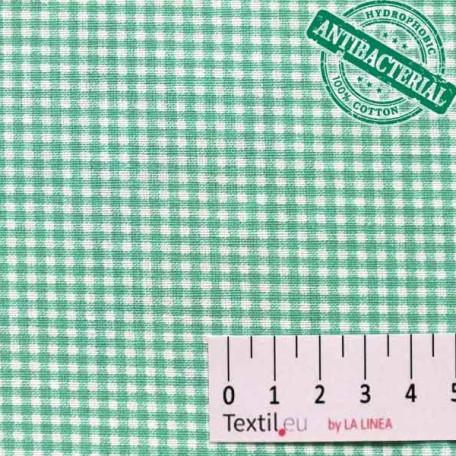Kostky - Bavlněné plátno - Zelená - 100% bavlna