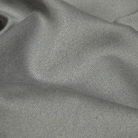 Abstraktní - Bavlněný satén - Šedá - 100% bavlna